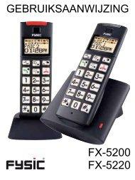 FX-5200 FX-5220 - Phone Master