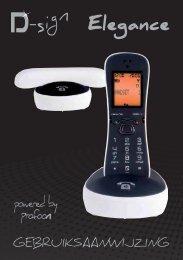 D-SIGN Elegance handleiding - Phone Master