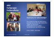 Powerpoint zur ANU-Fachgruppe Freiberufliche (Caroline Fischer)