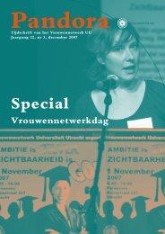 Pandora december 2007.pdf - Sociale Wetenschappen - Universiteit ...