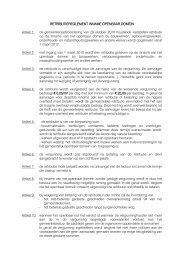 Retributiereglement inname openbaar domein - Gemeente Kaprijke