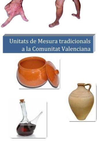 Unitats de Mesura tradicionals a la Comunitat Valenciana