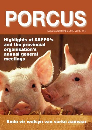 Porcus Aug/Sep 2012 - sappo