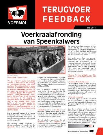 TERUGVOER FEEDBACK - Voermol