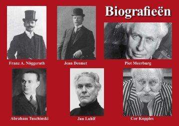 iografiëen markante figuren uit de - Theo Bakker's Domein