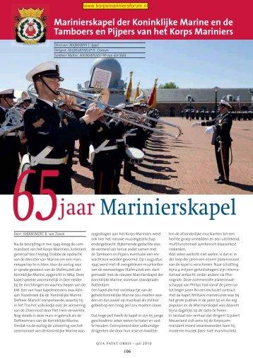 65 jaar Marinierskapel - EveryOneWeb