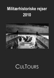 Militærhistoriske rejser 2010 CULTOURS