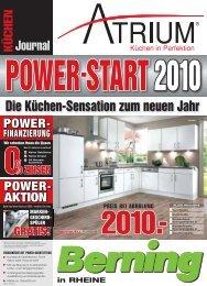Die Küchen-Sensation zum neuen Jahr - Möbel Berning