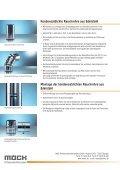 Kondensatdichte Edelstahl-Rauchrohre Abgasleitungen von Möck ... - Seite 2