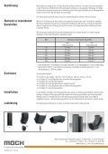 Strahlungsschutzbleche für lackierte Rauchrohre - Möck - Seite 2