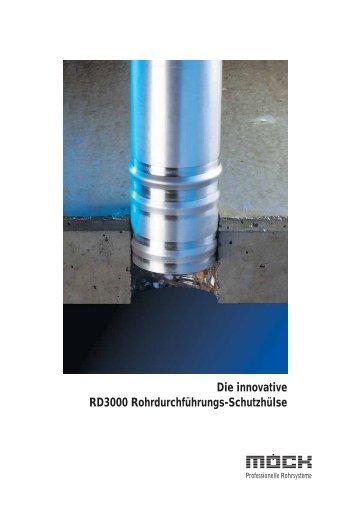 Die innovative RD3000 Rohrdurchführungs-Schutzhülse - Möck