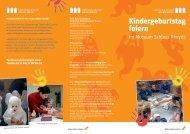 Kindergeburtstag feiern im Schloss Rheydt - Stadt Mönchengladbach