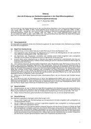 Satzung über die Erhebung von Zweitwohnungssteuer in der Stadt ...