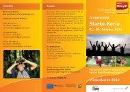 Informationsflyer Starke Kerle - Herbst 2012 (pdf) - Stadt ...