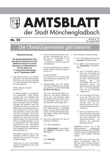 Satzspiegel neu.qxd - Stadt Mönchengladbach