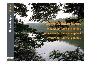 Umweltleitplan Moers - Stadt Moers