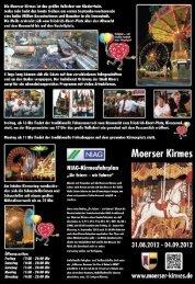 Flyer: Moerser Kirmes 2012 ( PDF , 4169.55 kB ) - Stadt Moers