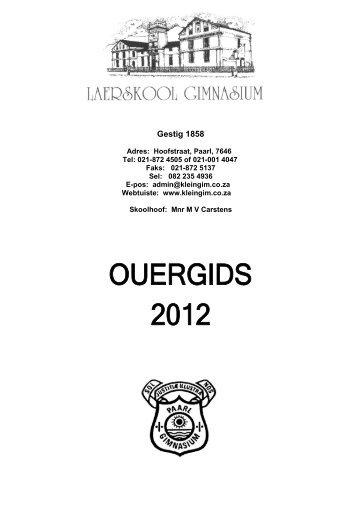 ouergids - Kleingim.co.za