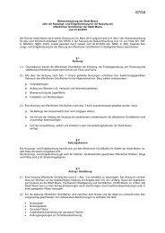 Nutzungs- und Entgeltordnung für die Nutzung der ... - Stadt Moers