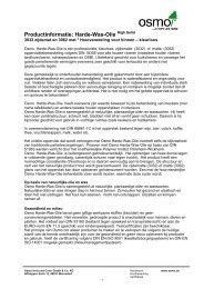 Productblad_hardwax olie 3032 en 3062 - Doetinchem Parket