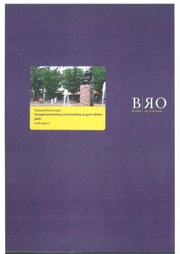 Bijlage 11 Draagkrachtmeting ontwikkeling August Allebéplein (16-01