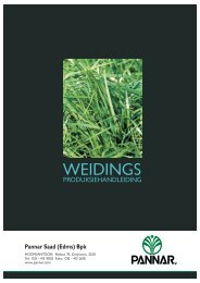 weidings handleiding coverA3 - Pannar Seed