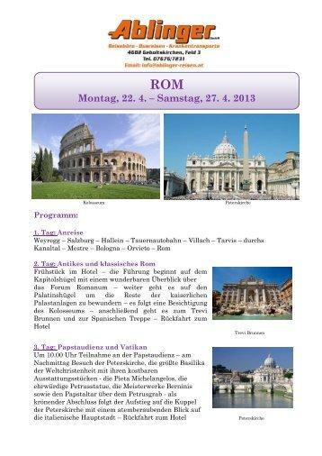 Romreise