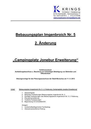 zu TOP 3 Begründung BPlan - Monschau