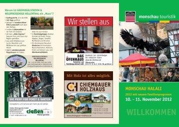 Download Flyer Halali 2012 [PDF, 4,8 MB] - Monschau