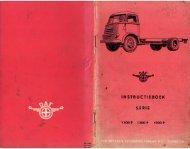 Instructieboekje Daf 1100 P, 1300 P en 1500 P - Oudedaftechniek