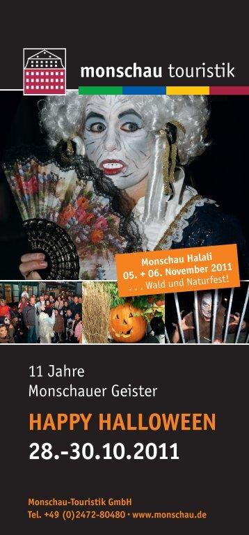 happY halloWeen 28.-30.10.2011 - Monschau