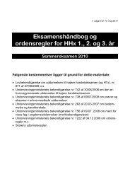 Eksamenshåndbog for HH - Vestjydsk Handelsskole