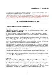 Nyhedsbrev fra AMA 1. kvartal 2005