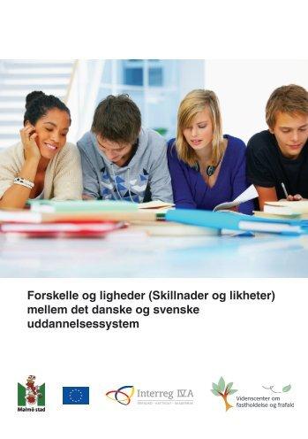 Forskelle og ligheder mellem det danske og svenske ...