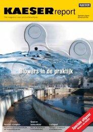 Speciale uitgave Blowers van KAESER