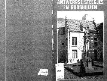 Antwerpse steegjes en godshuizen. - History of Social Work