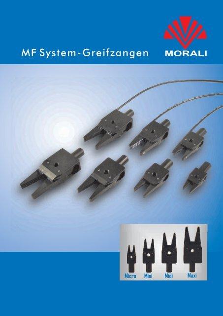 MF System-Greifzangen - Morali Produktionstechnik GmbH