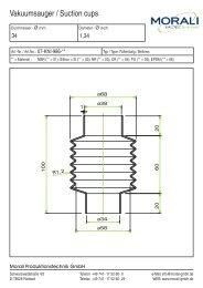 Vacuum cups Catalog - Morali Produktionstechnik GmbH