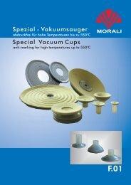 Spezial - Vakuumsauger Special Vacuum Cups - Morali ...