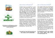 Was ist das, ein Bürgerbus? - Gemeinde Morsbach