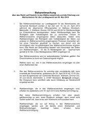Bekanntmachung - Gemeinde Morsbach