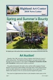Spring and Summer's Bounty - Highland Art Center
