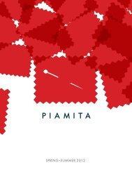 SPRING SUMMER 2012 (pdf) - Piamita