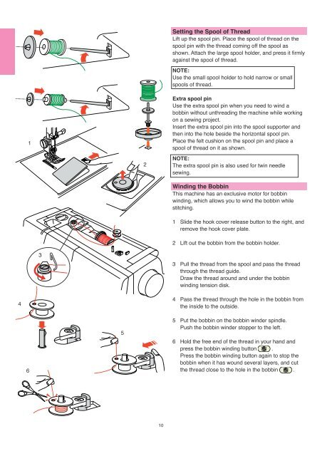 IMPORTANT SAFETY INSTRUCTIONS SAVE THESE ... - Janome