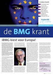 De BMG krant 5 - instituut Beleid & Management Gezondheidszorg ...
