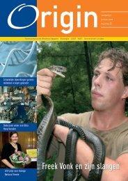 Freek Vonk en zijn slangen - Faculteit der Wiskunde en ...