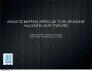 semantic mapping approach to environment analysis in usar scenario