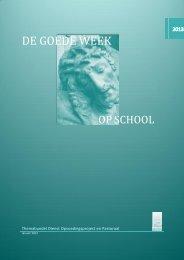 De Goede Week op school - VSKO
