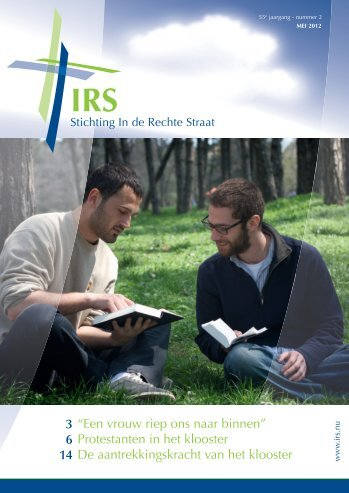 260197_IRS brochure nr.2 2012.indd - Stichting In de Rechte Straat