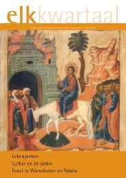 Lekenpreken Luther en de joden Feest in Winschoten en Pekela